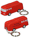 Fire Truck Key Chain Stress Balls